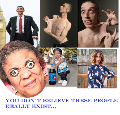 5 Incredible People in the world you don't believe exist